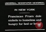 Image of Franciscan Friar New York United States USA, 1930, second 5 stock footage video 65675023936