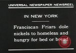 Image of Franciscan Friar New York United States USA, 1930, second 6 stock footage video 65675023936