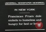 Image of Franciscan Friar New York United States USA, 1930, second 7 stock footage video 65675023936