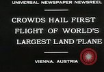 Image of G-38 plane Vienna Austria, 1930, second 4 stock footage video 65675023937