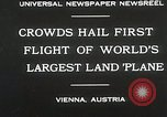 Image of G-38 plane Vienna Austria, 1930, second 6 stock footage video 65675023937