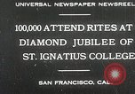 Image of Diamond jubilee San Francisco California USA, 1930, second 1 stock footage video 65675023938
