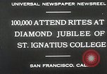 Image of Diamond jubilee San Francisco California USA, 1930, second 2 stock footage video 65675023938