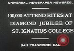 Image of Diamond jubilee San Francisco California USA, 1930, second 3 stock footage video 65675023938