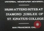 Image of Diamond jubilee San Francisco California USA, 1930, second 4 stock footage video 65675023938