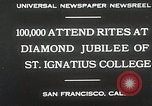 Image of Diamond jubilee San Francisco California USA, 1930, second 5 stock footage video 65675023938