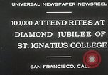 Image of Diamond jubilee San Francisco California USA, 1930, second 6 stock footage video 65675023938
