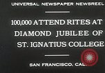 Image of Diamond jubilee San Francisco California USA, 1930, second 7 stock footage video 65675023938