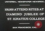 Image of Diamond jubilee San Francisco California USA, 1930, second 8 stock footage video 65675023938