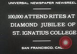 Image of Diamond jubilee San Francisco California USA, 1930, second 9 stock footage video 65675023938
