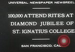 Image of Diamond jubilee San Francisco California USA, 1930, second 10 stock footage video 65675023938