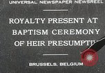 Image of Baptism ceremony Brussels Belgium, 1930, second 1 stock footage video 65675023942