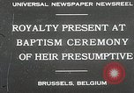 Image of Baptism ceremony Brussels Belgium, 1930, second 2 stock footage video 65675023942