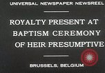 Image of Baptism ceremony Brussels Belgium, 1930, second 4 stock footage video 65675023942