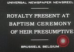 Image of Baptism ceremony Brussels Belgium, 1930, second 5 stock footage video 65675023942