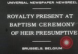 Image of Baptism ceremony Brussels Belgium, 1930, second 6 stock footage video 65675023942