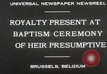 Image of Baptism ceremony Brussels Belgium, 1930, second 7 stock footage video 65675023942