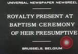 Image of Baptism ceremony Brussels Belgium, 1930, second 8 stock footage video 65675023942