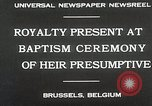 Image of Baptism ceremony Brussels Belgium, 1930, second 9 stock footage video 65675023942