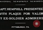 Image of Captain Hemphill Pittsburgh Pennsylvania USA, 1930, second 1 stock footage video 65675023945
