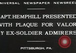 Image of Captain Hemphill Pittsburgh Pennsylvania USA, 1930, second 2 stock footage video 65675023945