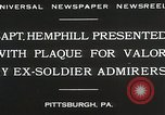 Image of Captain Hemphill Pittsburgh Pennsylvania USA, 1930, second 4 stock footage video 65675023945