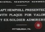 Image of Captain Hemphill Pittsburgh Pennsylvania USA, 1930, second 7 stock footage video 65675023945
