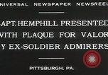 Image of Captain Hemphill Pittsburgh Pennsylvania USA, 1930, second 8 stock footage video 65675023945
