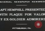 Image of Captain Hemphill Pittsburgh Pennsylvania USA, 1930, second 10 stock footage video 65675023945