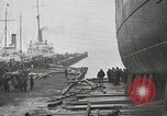 Image of launching of coast guard cutter United States USA, 1926, second 8 stock footage video 65675023950