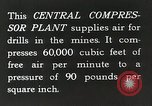 Image of Central compressor plant United States USA, 1927, second 4 stock footage video 65675023956