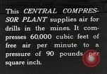Image of Central compressor plant United States USA, 1927, second 11 stock footage video 65675023956