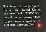 Image of Bingham canyon mine Utah United States USA, 1927, second 1 stock footage video 65675023957