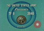 Image of Weapons of field artillery United States USA, 1965, second 6 stock footage video 65675023971