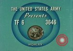 Image of Weapons of field artillery United States USA, 1965, second 7 stock footage video 65675023971