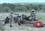 Image of M102 howitzer United States USA, 1965, second 9 stock footage video 65675023974