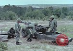 Image of M102 howitzer United States USA, 1965, second 10 stock footage video 65675023974