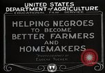 Image of Negro farmer United States USA, 1921, second 5 stock footage video 65675023989