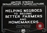 Image of Negro farmer United States USA, 1921, second 8 stock footage video 65675023989
