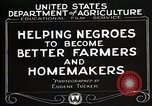 Image of Negro farmer United States USA, 1921, second 10 stock footage video 65675023989