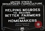 Image of Negro farmer United States USA, 1921, second 11 stock footage video 65675023989