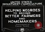 Image of Negro farmer United States USA, 1921, second 12 stock footage video 65675023989
