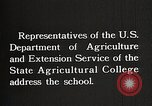 Image of students from the Tuskegee Movable school United States USA, 1921, second 7 stock footage video 65675023996