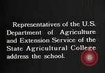 Image of students from the Tuskegee Movable school United States USA, 1921, second 8 stock footage video 65675023996
