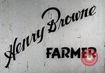 Image of Henry Brown United States USA, 1942, second 12 stock footage video 65675023997