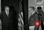 Image of Plaque presentation United States USA, 1957, second 7 stock footage video 65675024018