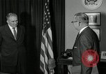 Image of Plaque presentation United States USA, 1957, second 11 stock footage video 65675024018