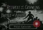 Image of Battle of Arras France, 1917, second 1 stock footage video 65675024071