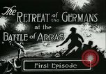 Image of Battle of Arras France, 1917, second 2 stock footage video 65675024071