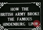 Image of Battle of Hindenburg Line France, 1918, second 3 stock footage video 65675024091
